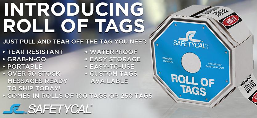 Waterproof Roll of Tags