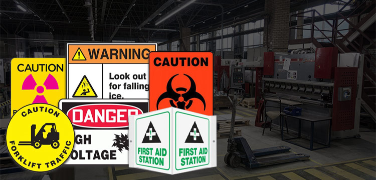 color coding for safety signs