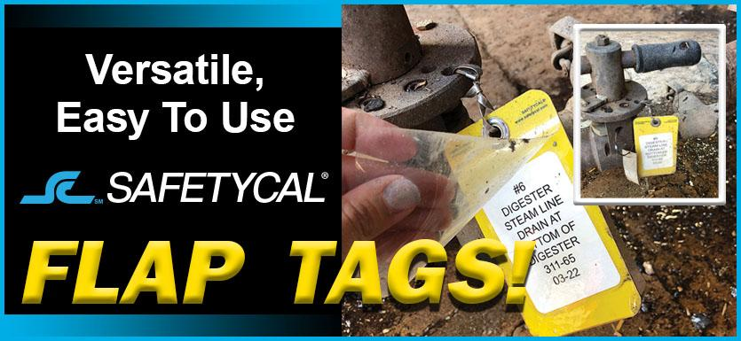 Safetycal Flap Tags™