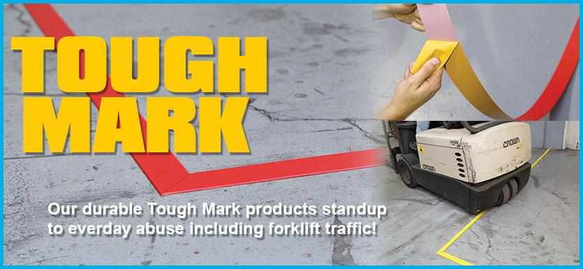 Tough-Mark® Floor Tapes at Safetycal