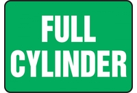 Cylinder Signs