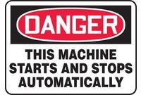 Equipment Hazard Signs