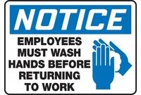 Housekeeping & Hygiene Signs