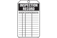 Inspection & Service Tags