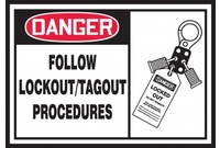 Lockout/Tagout Labels