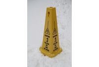 Quad-Panel Safety Cones
