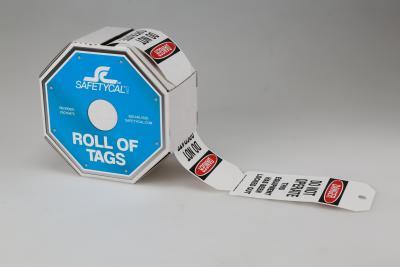Custom Roll Of Tags