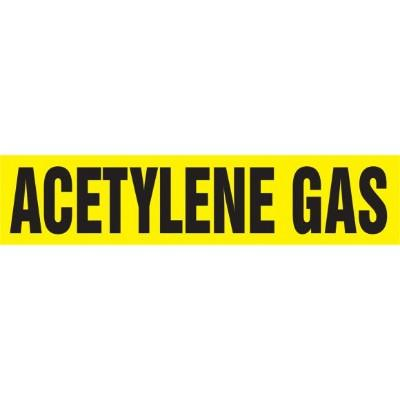 Acetylene Gas - Cling-Tite Pipe Marker