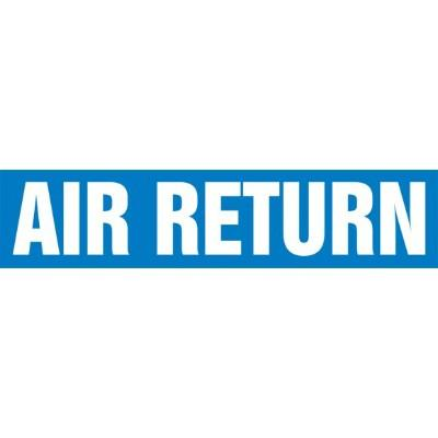 Air Return - Cling-Tite Pipe Marker