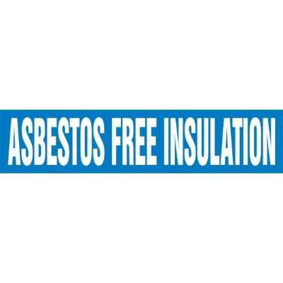 Asbestos Free Insulation - Cling-Tite Pipe Marker