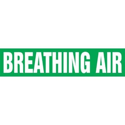 Breathing Air - Cling-Tite Pipe Marker