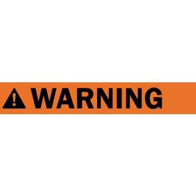 Warning ANSI Barricade Tape