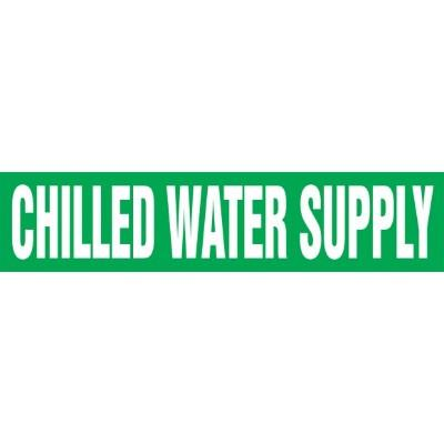 Chilled Water Supply - Cling-Tite Pipe Marker