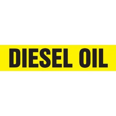 Diesel Oil - Cling-Tite Pipe Marker