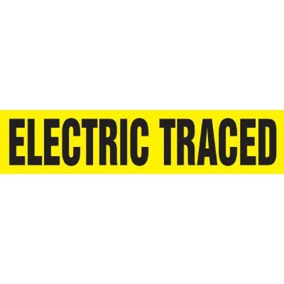 Electric Traced - Cling-Tite Pipe Marker