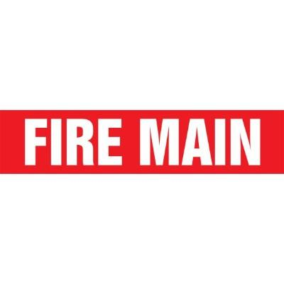 Fire Main - Cling-Tite Pipe Marker