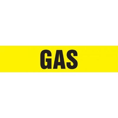 Gas - Cling-Tite Pipe Marker