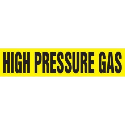 High Pressure Gas - Cling-Tite Pipe Marker