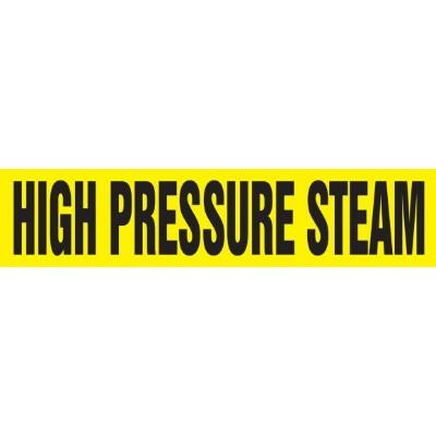 High Pressure Steam - Cling-Tite Pipe Marker