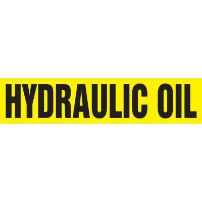 Hydraulic Oil - Cling-Tite Pipe Marker