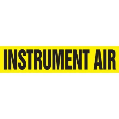 Instrument Air - Cling-Tite Pipe Marker