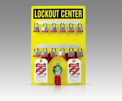 12 Padlock Lockout Hanger Board