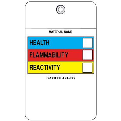 Hazardous Material Flap Tag (HazCom)