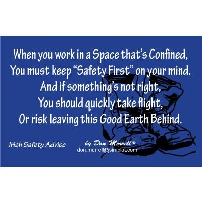 """Limerick - """"Confined Space"""""""