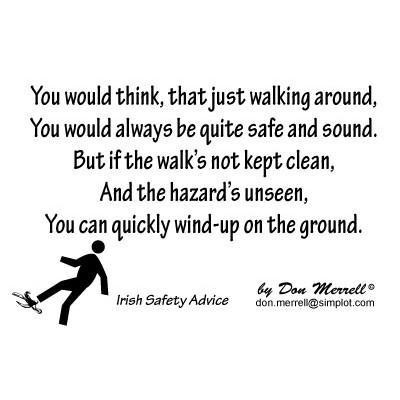"Limerick - ""Hazards Unseen"""