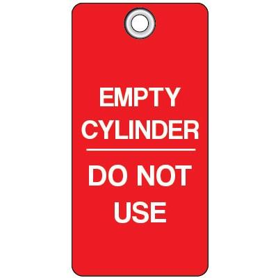 Empty Cylinder - Do Not Remove Lockout Tag