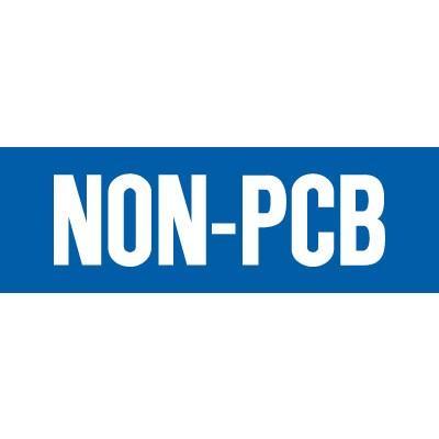 Non-PCB Label (Small)