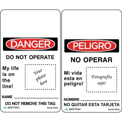 Danger - Do Not Operate (Photo Tag) OSHA Lockout Tag