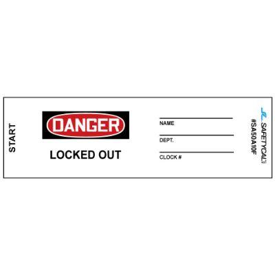 Danger - Locked Out, Name_ Dept_ OSHA Lockwrap