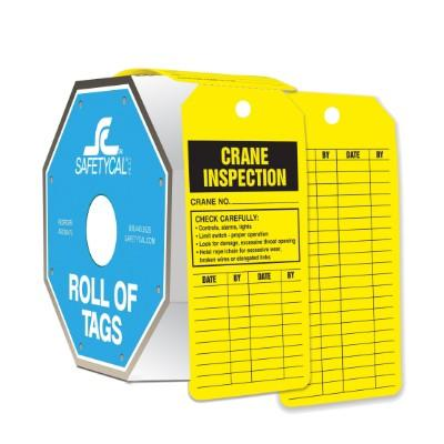 Crane Inspection - Roll of Tags
