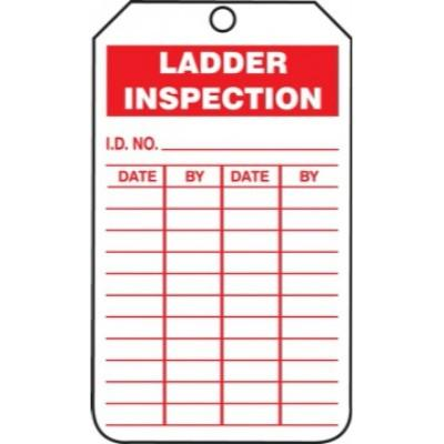 Ladder Inspection Tag