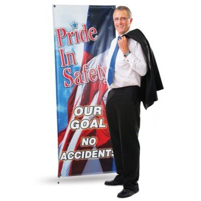 Vertical Banner Stand