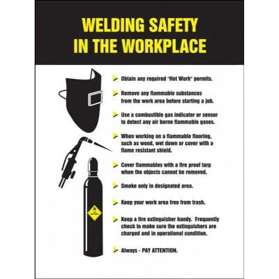 Welding Safety in the Workplace - Safety Poster