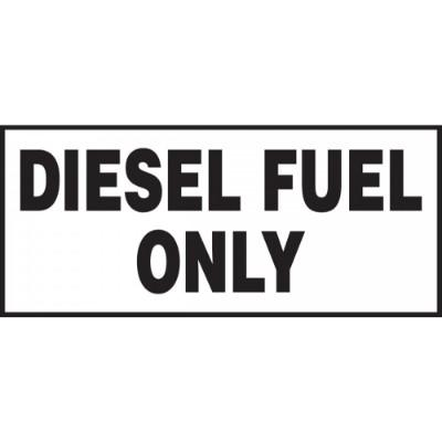 Diesel Fuel Only Container Label | SAFETYCAL, INC.