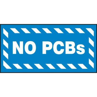 No PCBs Label