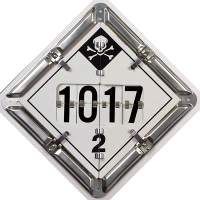 Digit 8-Legend DOT Flip Placard