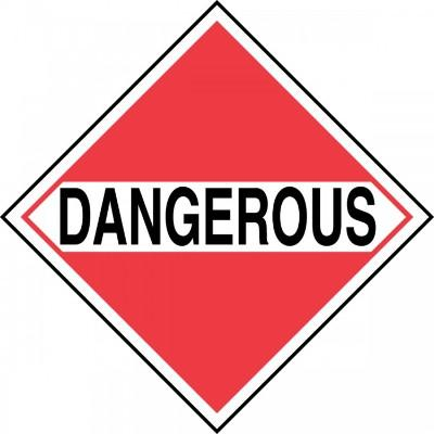 For Mixed Loads - Dangerous DOT Placard