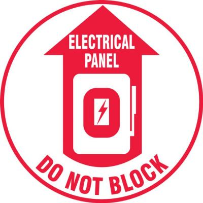 Electrical Panel - Do Not Block - LED Projector Lens