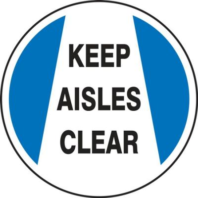 Keep Aisles Clear - LED Projector Lens