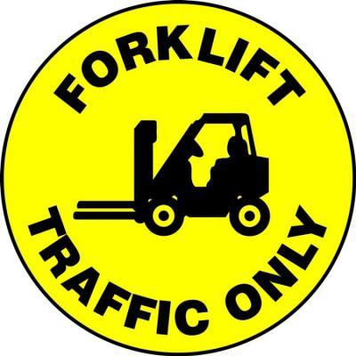 Forklift Traffic Only - LED Projector Lens