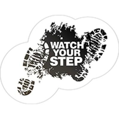 Watch Your Step - Floor Graphic