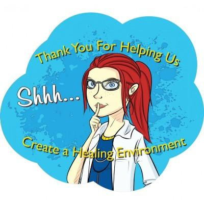 Thank You for Helping Us Create a Hearing Environment - Floor Graphic