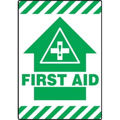 First Aid - Mat Style Floor Sign
