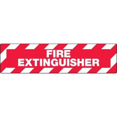 Fire Extinguisher - Skid-Gard® Floor Sign