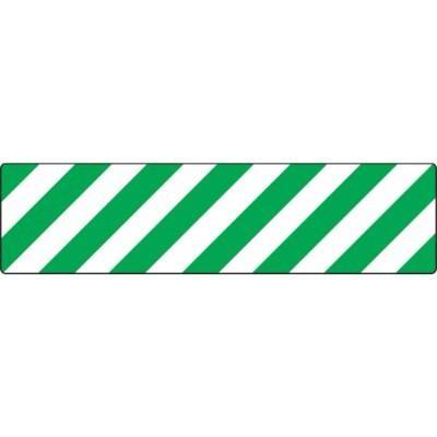 Green/White Stripes - Skid-Gard® Floor Sign