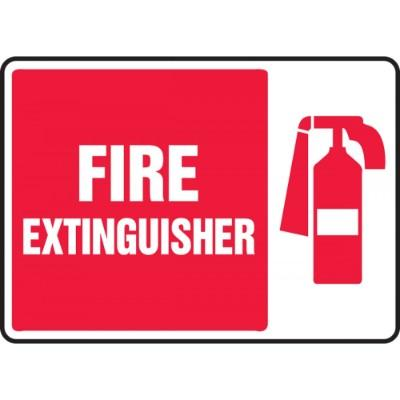 Fire Extinguisher Sign (Image Right)